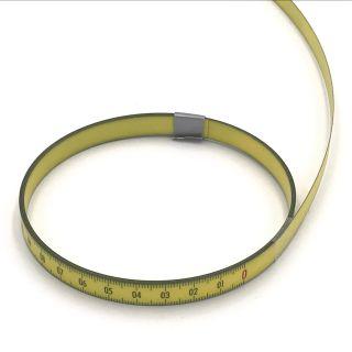 Skalenbandmaß Duplexteilung - 0,3m - 13mm -  rechts → links